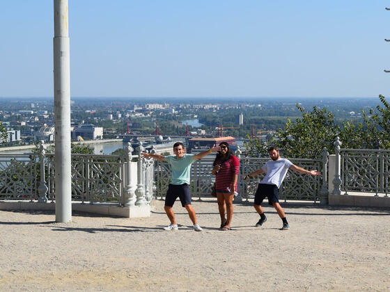 Exploring City of Budapest- Will, Wade, and Monica Patel