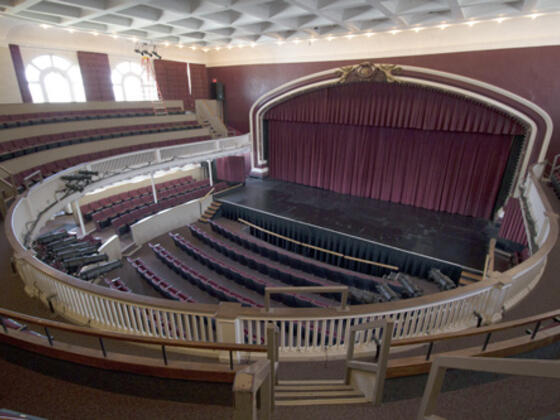 Theatre - view from balcony