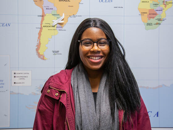 Emem Akpan receives Gilman scholarships to study abroad