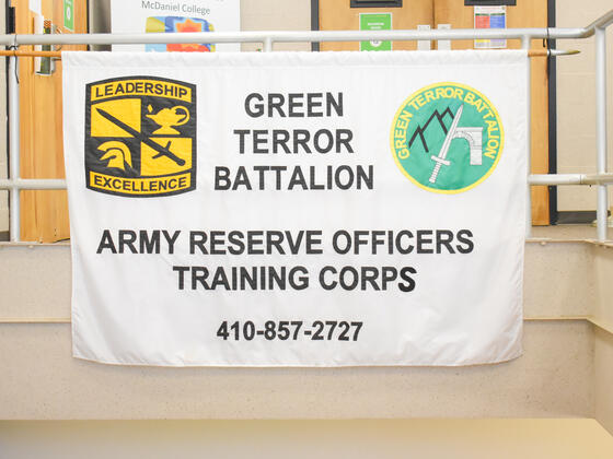 Army ROTC has been a tradition at the college since 1919, and the Green Terror Battalion is one of the oldest ROTC programs in the nation.
