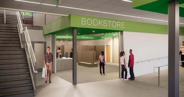 Student Center Renovation - Bookstore