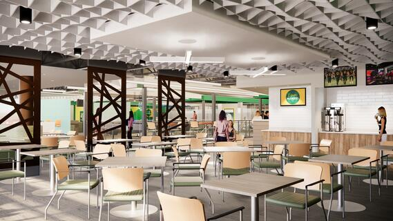 Student Center Renovation - dining