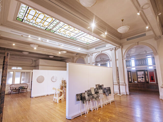 Rice Gallery in Peterson Hall