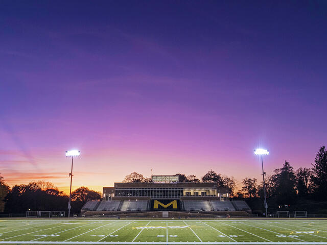 View of Kenneth R. Gill Stadium/Rembert Field