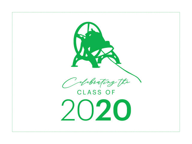 class of 2020 celebration graphic