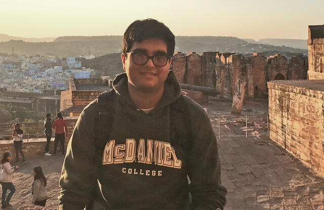 Ravi Patel has traveled to 27 countries including Jaipur, India