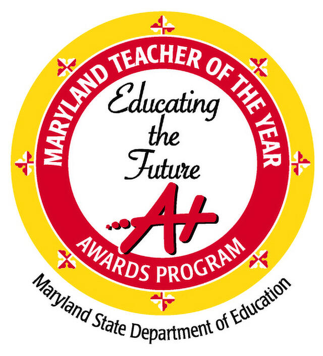 md teacher of the year graphic - educating the future MSDE
