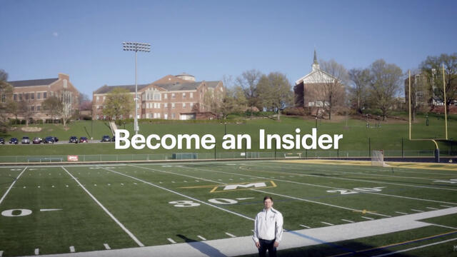 Become and Insider - student tour of campus