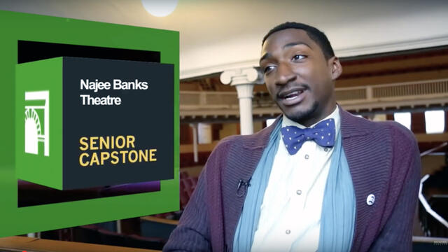 Theatre Arts Najee Banks Senior Capstone Video