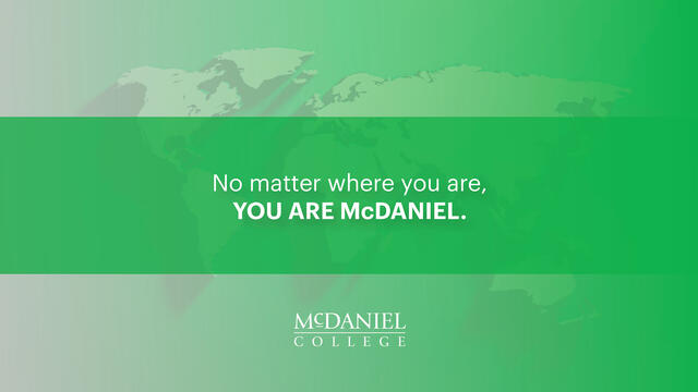 McDaniel College seniors were recognized with academic, activity and leadership awards during a virtual Celebration Day.